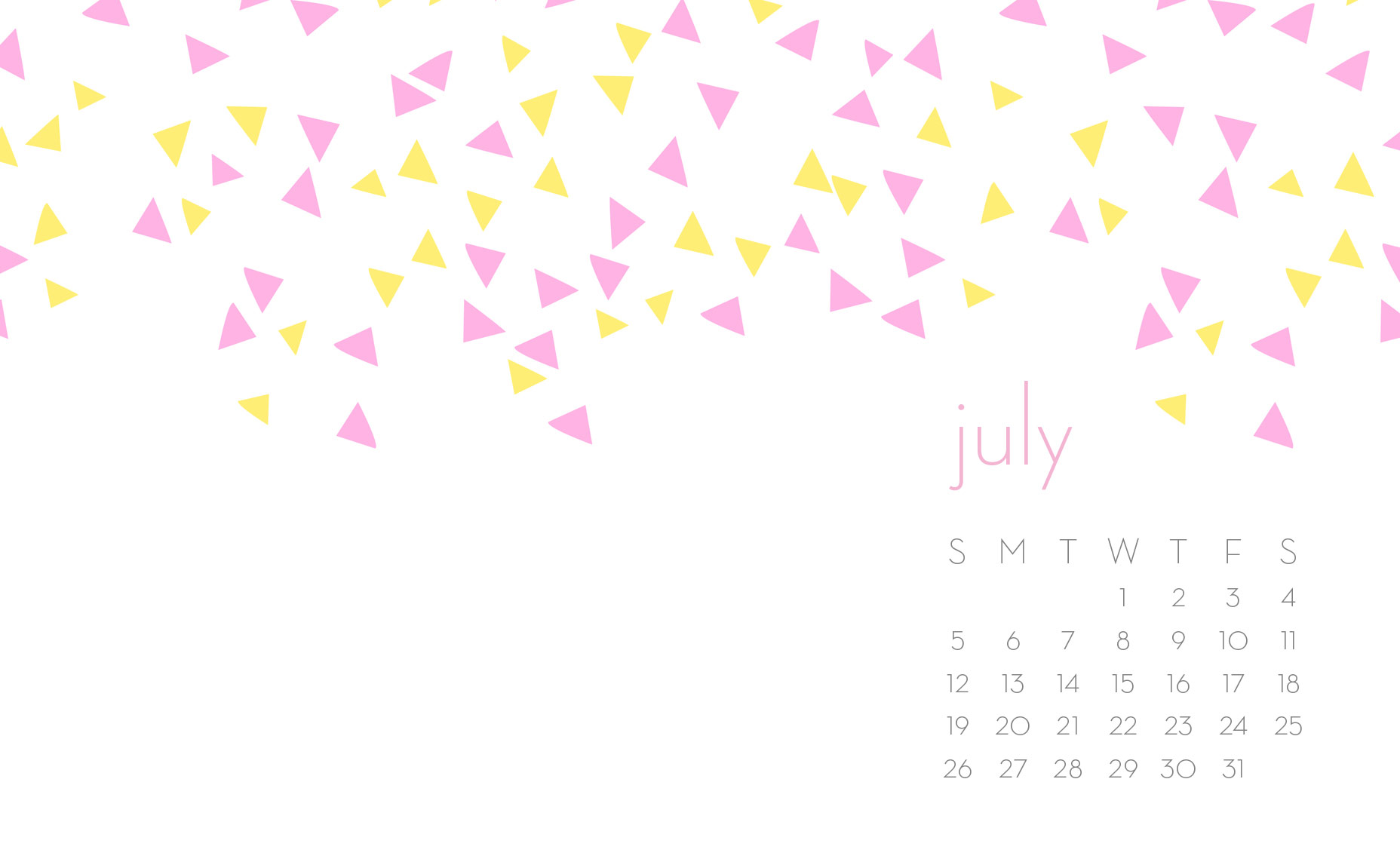 July 2015 Wallpaper Downloads