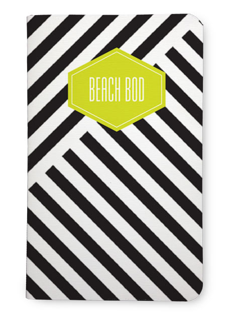 Beach bod exercise notebook
