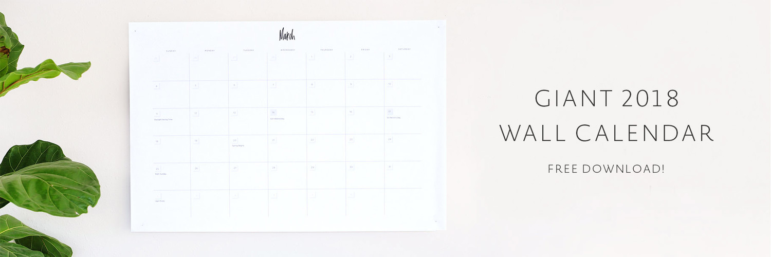 Wall Calendar Printable  May Designs