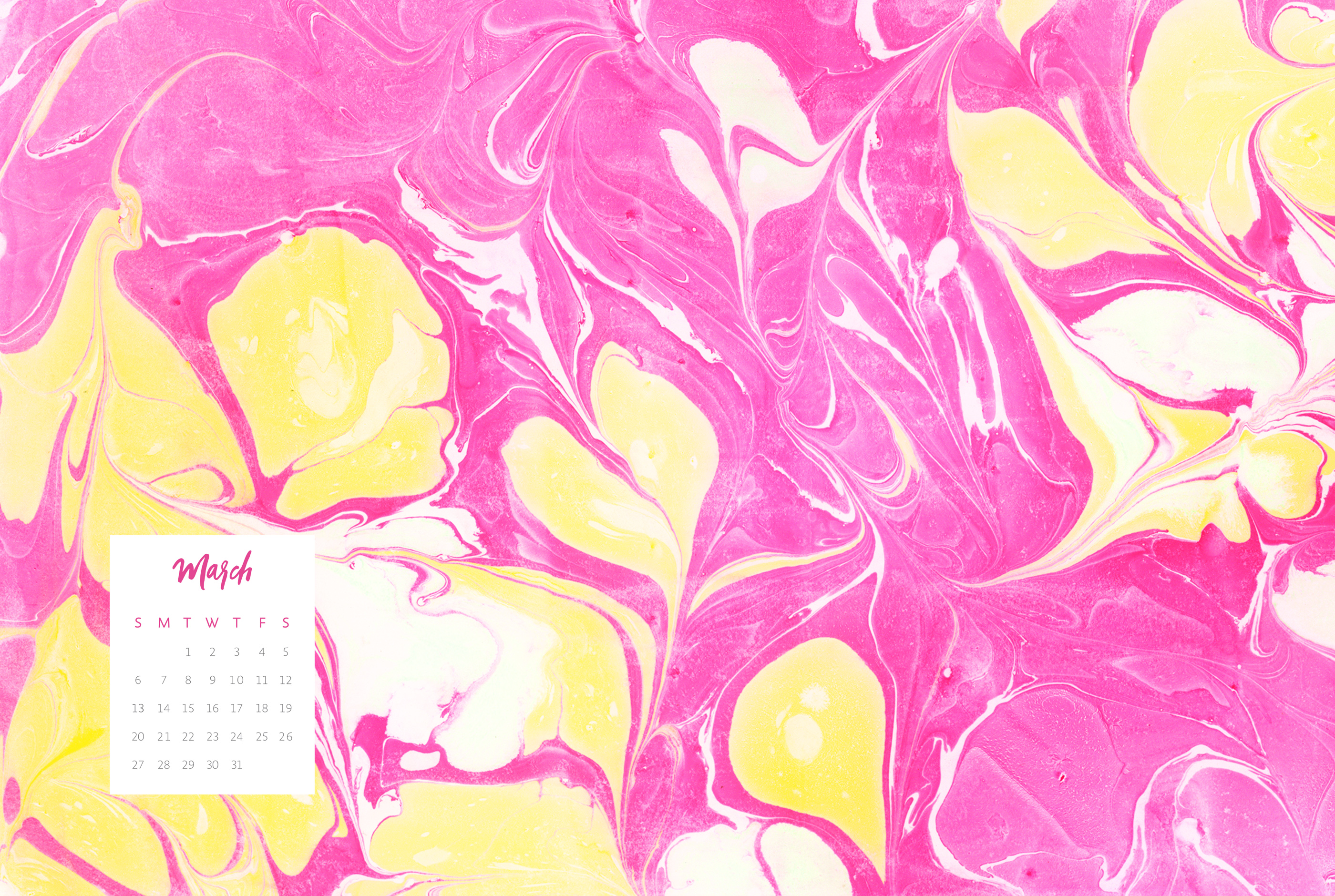 Must see Wallpaper Marble April - fd701cb0881f0a39b19384d61c79c9a396c67842_march-2016-desktop-marble-hot-pink-yellow  Best Photo Reference_806856.jpg